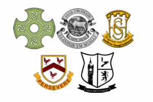 Powys Combined Schools Logos
